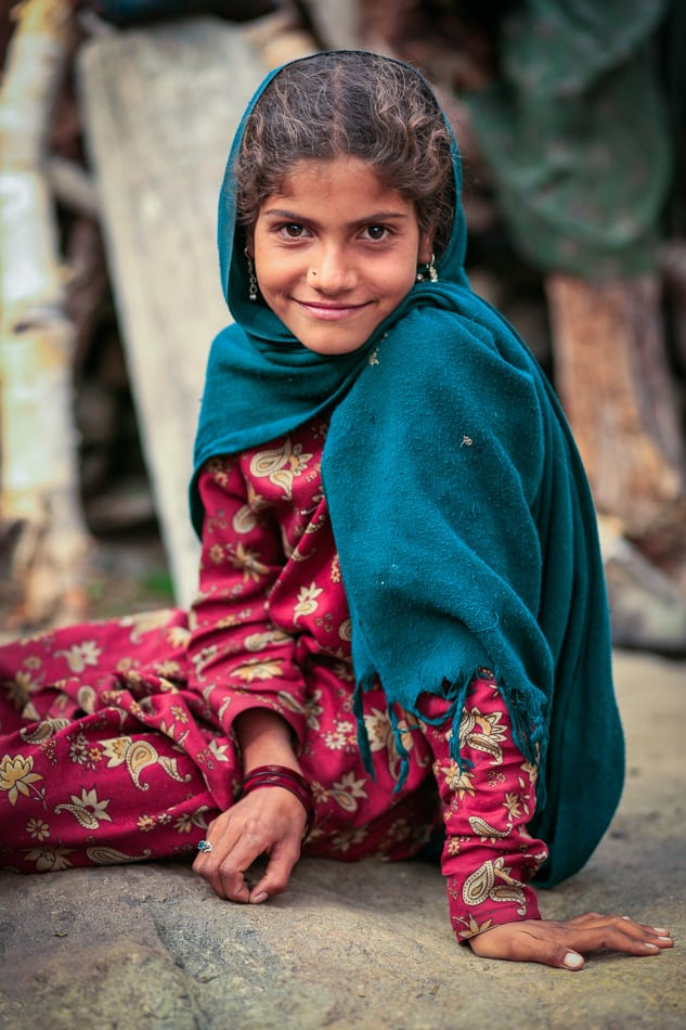 Gujjar girl. This images was actually still on a 1GB CF card that I never erased.