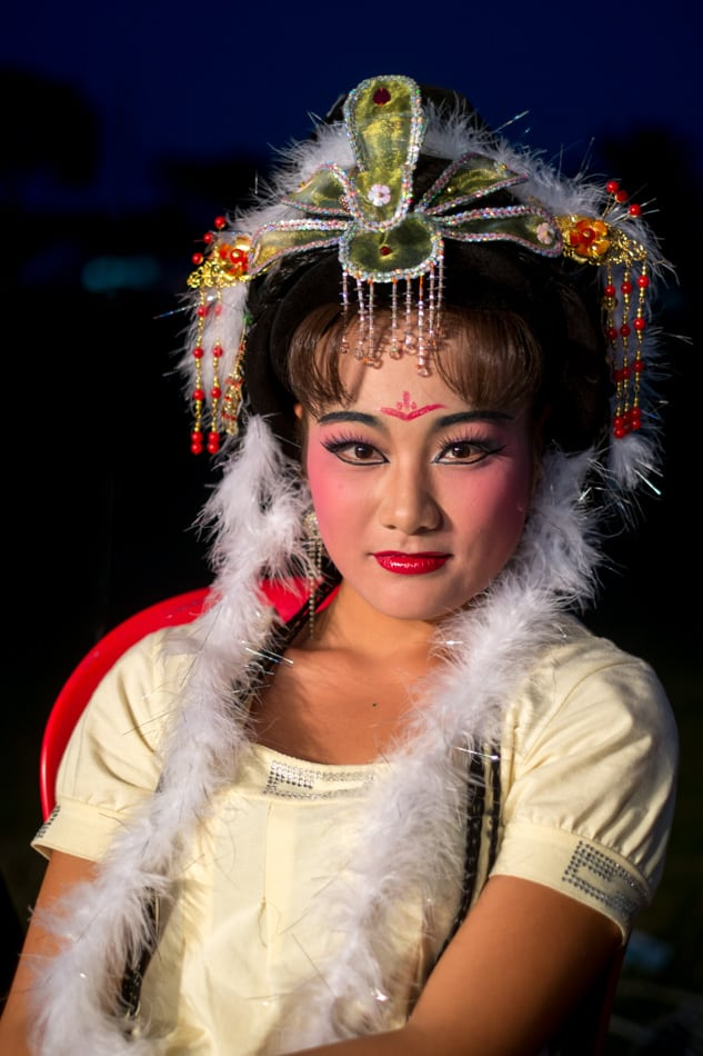 This beautiful performer came from Taiwan to perform the opera at Butterworth.f/1.4, 1/80 sec, at 35mm, 200 ISO, on a X-Pro1