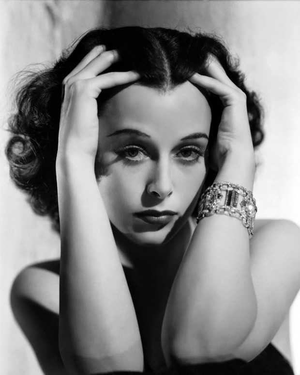 Hedy Lamarr, 1940, byGeorge Hurrell.